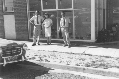 Bega Cobargo Veterinary Hospital in 1956